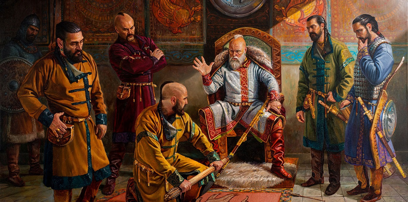 "Exhibition-contest of historical paintings ""the Cyrillic script"""